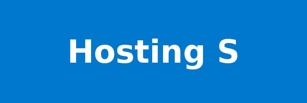 Hosting S