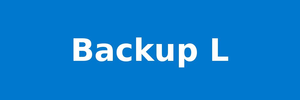 Backup L