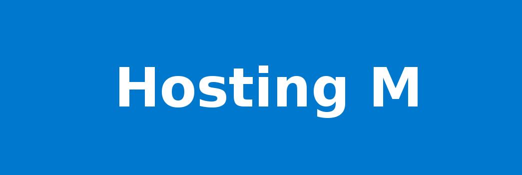 Hosting M