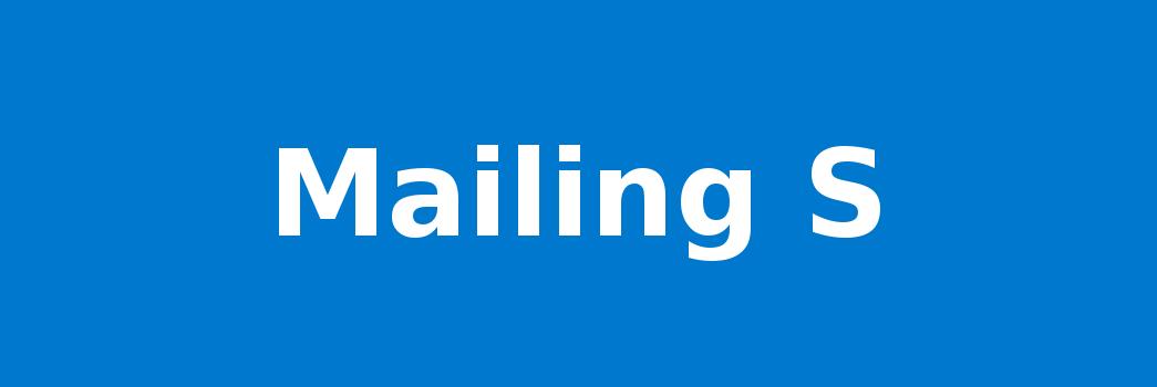 Mailing S
