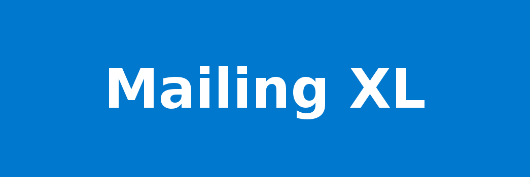 Mailing XL