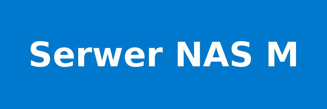 Serwer NAS M