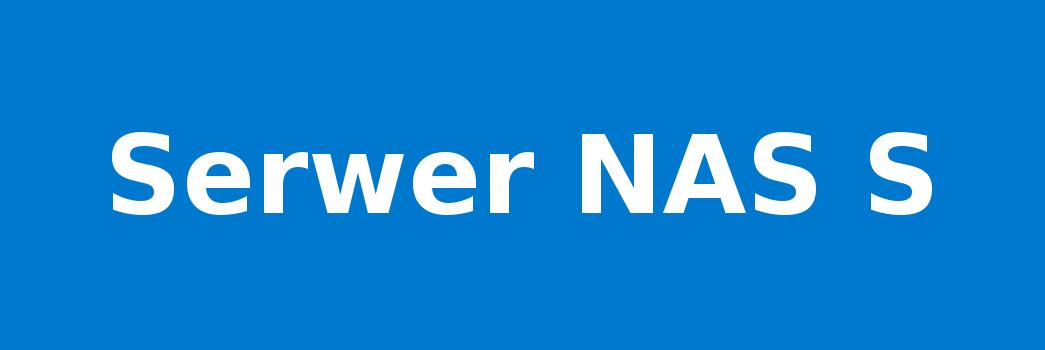 Serwer NAS S
