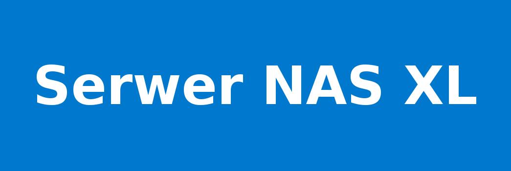 Serwer NAS XL